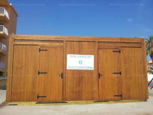 Aseo Salvamento de madera Porto Vista 3 Tavernes de Valldigna