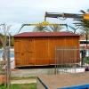 Chiringuito de madera Ibiza Gerona