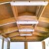 Chiringuito de madera Ibiza Marineland vista interior 1