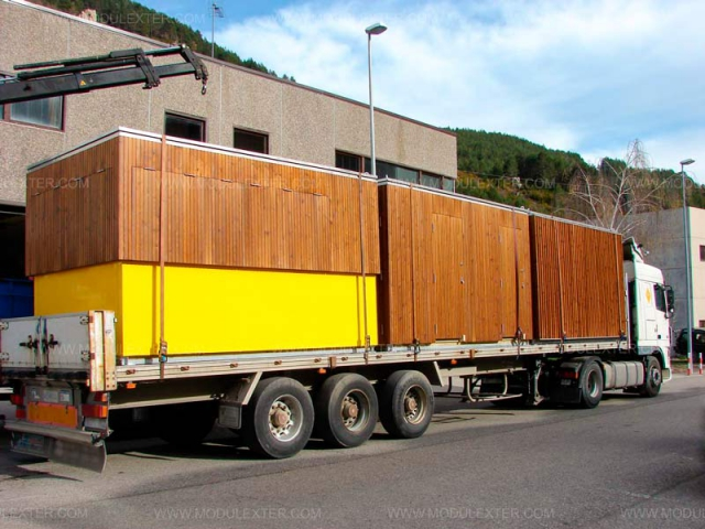 Chiringuito de madera Urbano Salou vista 2