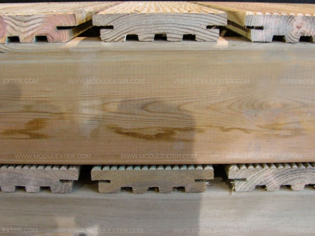 Tarima de madera antideslizante Vista 2