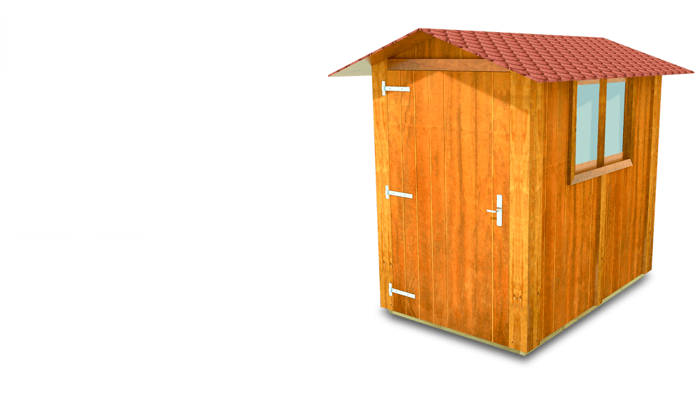 Casetas de madera de la l nea litoral de modulexter for Casetas para guardar bicicletas
