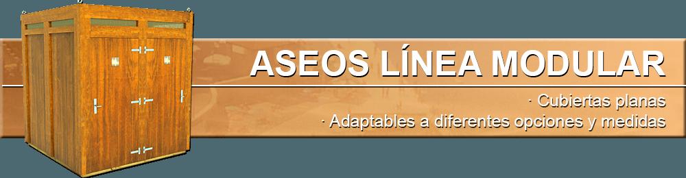 Aseos Línea Modular